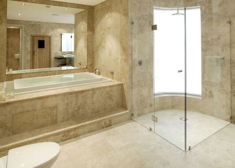 Spoilt for choice 5 modern types of bathroom flooring Stone flooring types